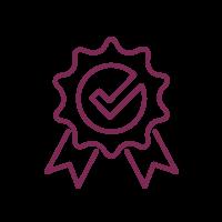 icon of ribbon award