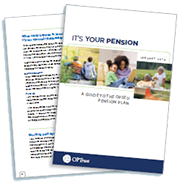 It's your pension booklet
