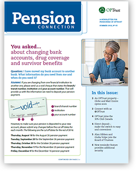 Pension Connection Summer 2016