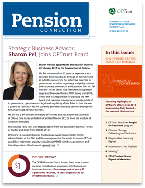 Pension Connection Spring 2017