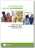 Your Pension During Retirement booklet