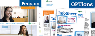 cover images of OPTrust publications