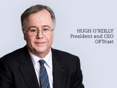 OPTrust President and CEO Hugh O'Reilly