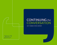 Continuing the Conversation - 2017 Funded Status Report