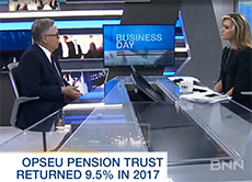 BNN interviews OPTrust CEO on 2017 investment returns