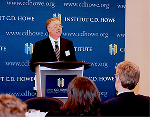 Hugh O'Reilly at the CD Howe Institute