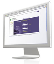 Computer screen online services