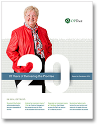 Report to Pensioners 2014 cover