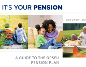 Your pension booklet cover